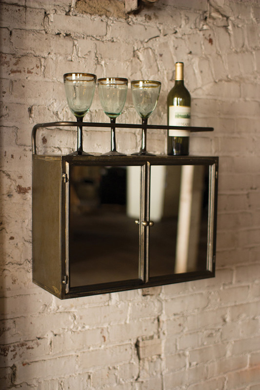 CABINET WITH DOUBLE MIRROR DOOR
