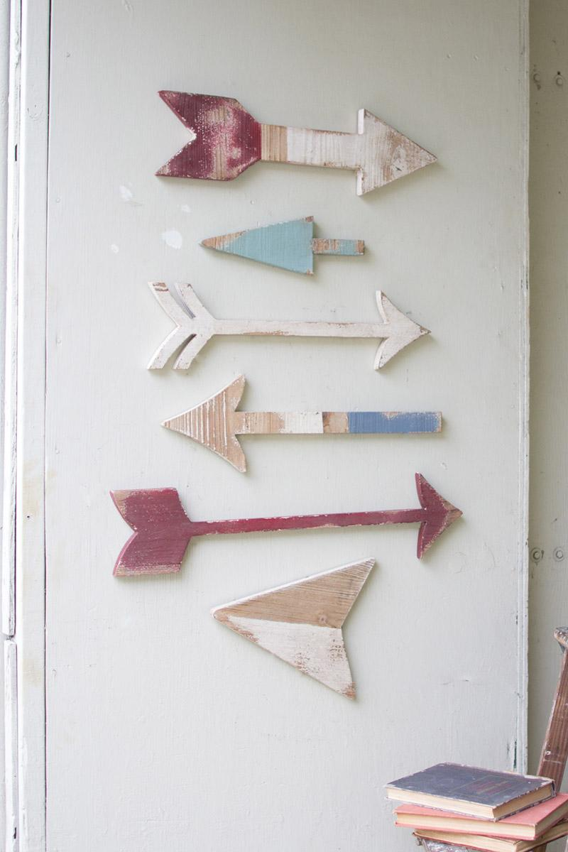 Wall Decor Wooden Arrows : Room d?cor at west end furniture lighting wall home