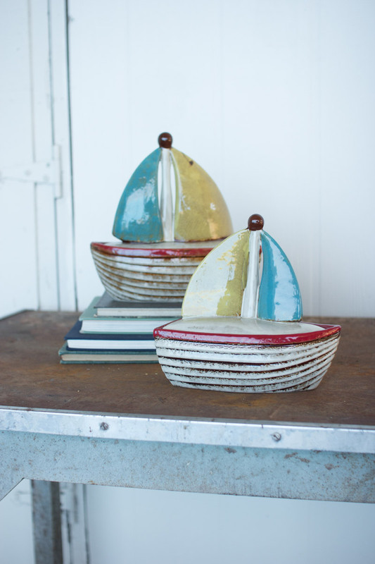sailboat canisters