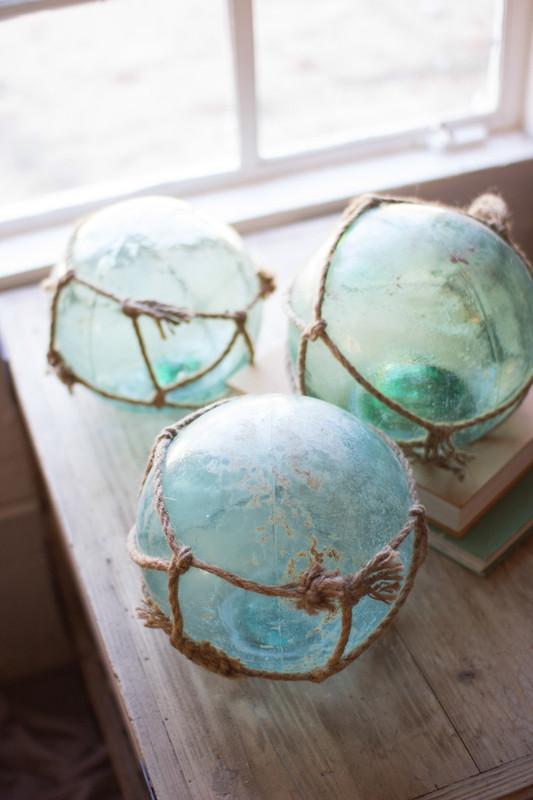 Nautical Antique Glass Float