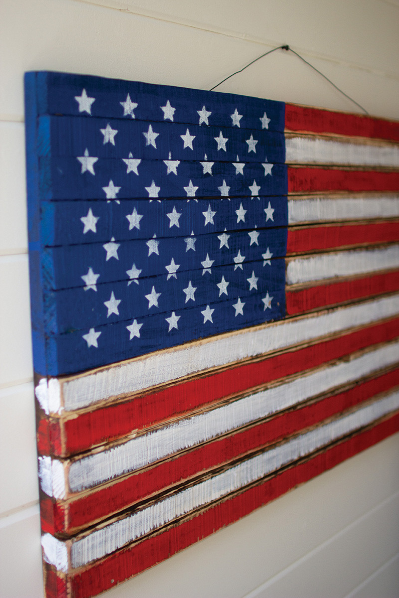 Wooden American Flag Wall Hanging wooden american flag wall hanging