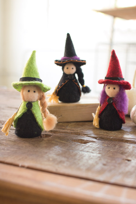 FELT WITCHES