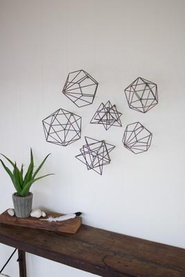 geometric orb wall art