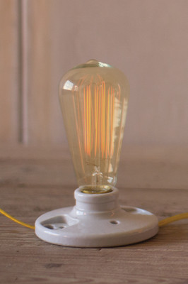 vintage light bulb - 40 watt