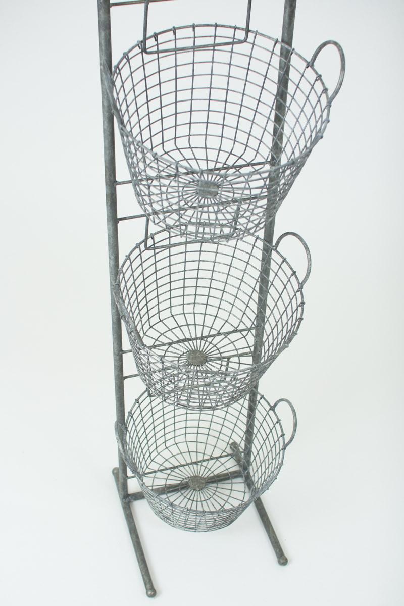 Wire Kitchen Cart Decor