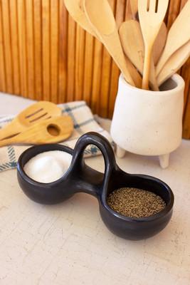 La Chamba Pottery Salt and Pepper Vessel