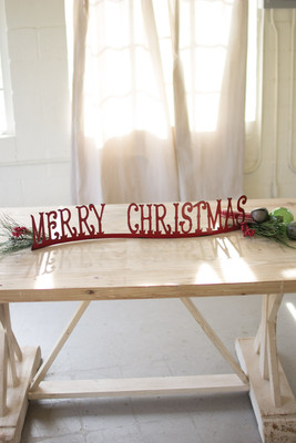 TABLE TOP MANTLE MERRY CHRISTMAS