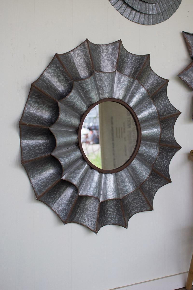 zinc sail mirror