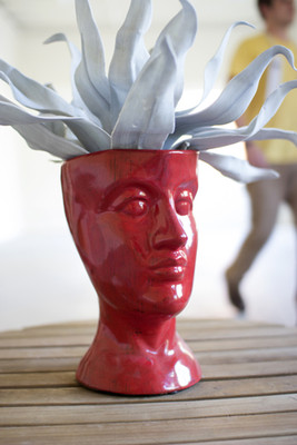 ceramic head - red