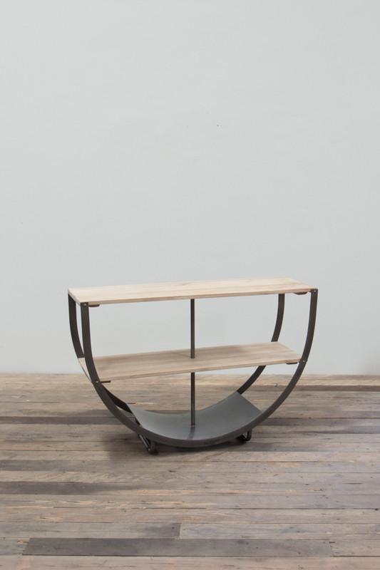 semicircle console