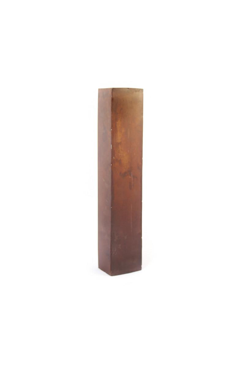 rustic metal letter - I