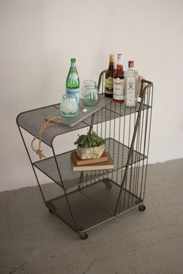 ROLLING DRINK CART