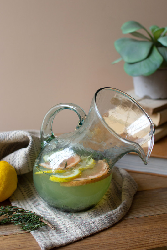 tilted pitcher - small