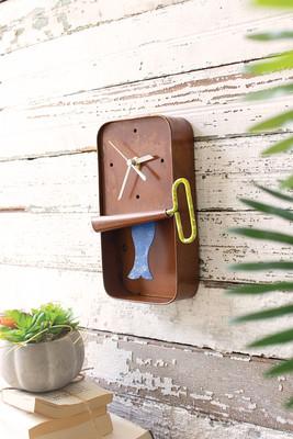 Sardine Tin Clock