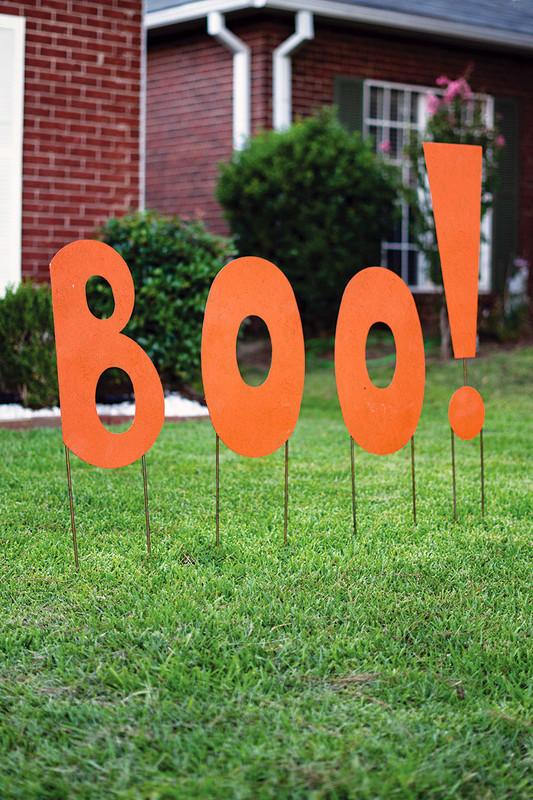 Friendly Boo Yard Sign