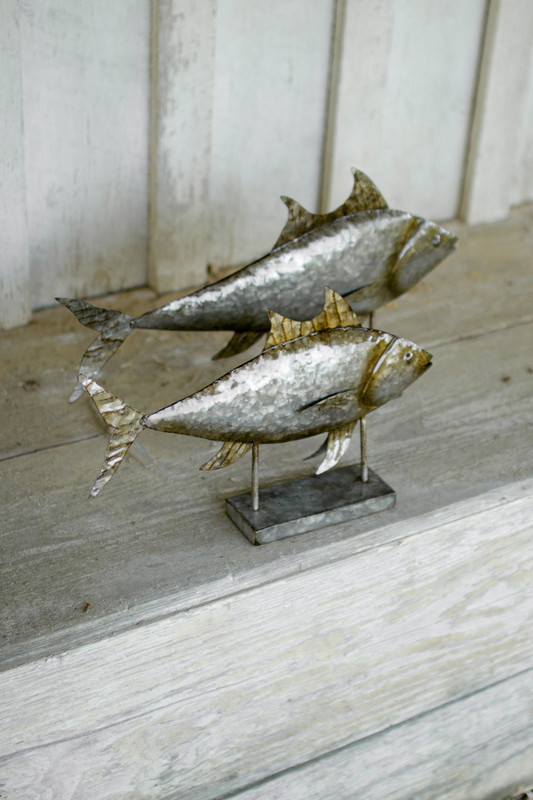 galvanized metal tuna