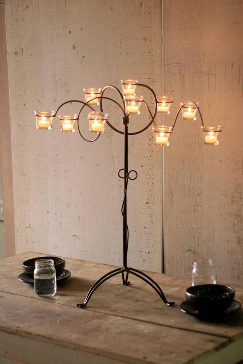 wild wire candelabra