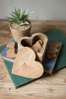 Spread Some Love Clay Heart Box With 12 Hearts To Give Away