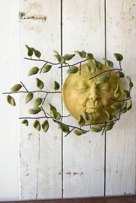 sun face wall hanging