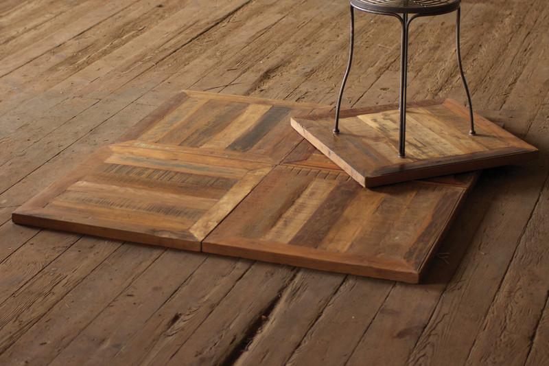 recycled teak flooring