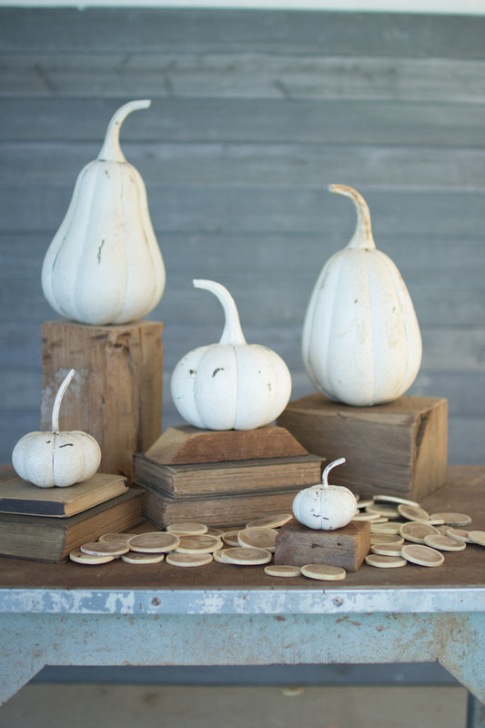 RECYCLED IRON PUMPKINS