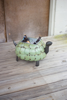 TORTOISE PLANTER OR DRINK TUB