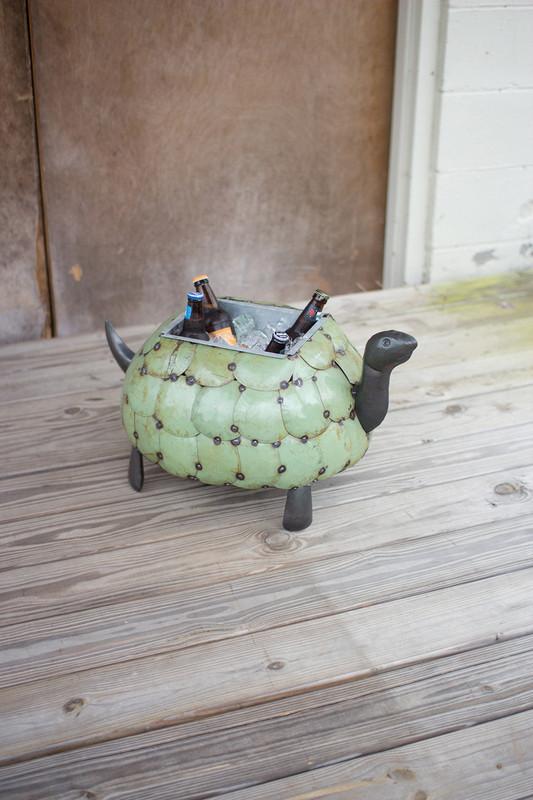 TORTOISE PLANTER OR DRINK TUB