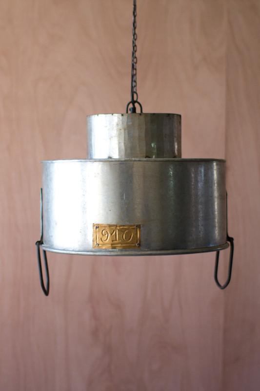 double cylinder pendant lamp