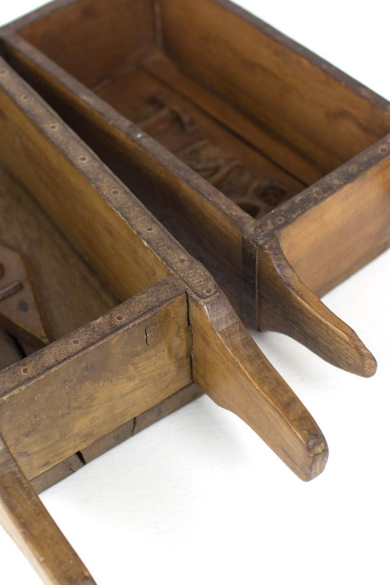 Antique Wooden Brick Mold