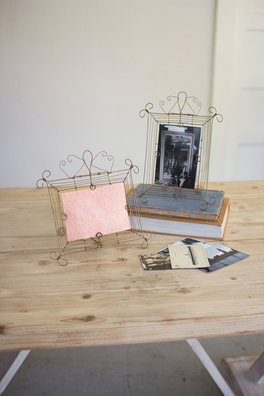 SET/2 WIRE PHOTO FRAMES