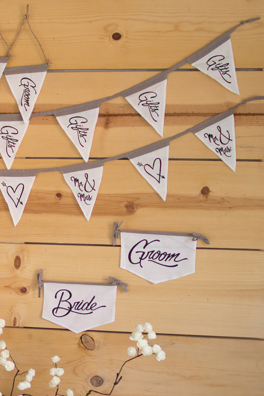 gifts pennant garland