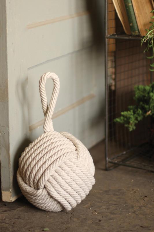 cotton rope door stopper