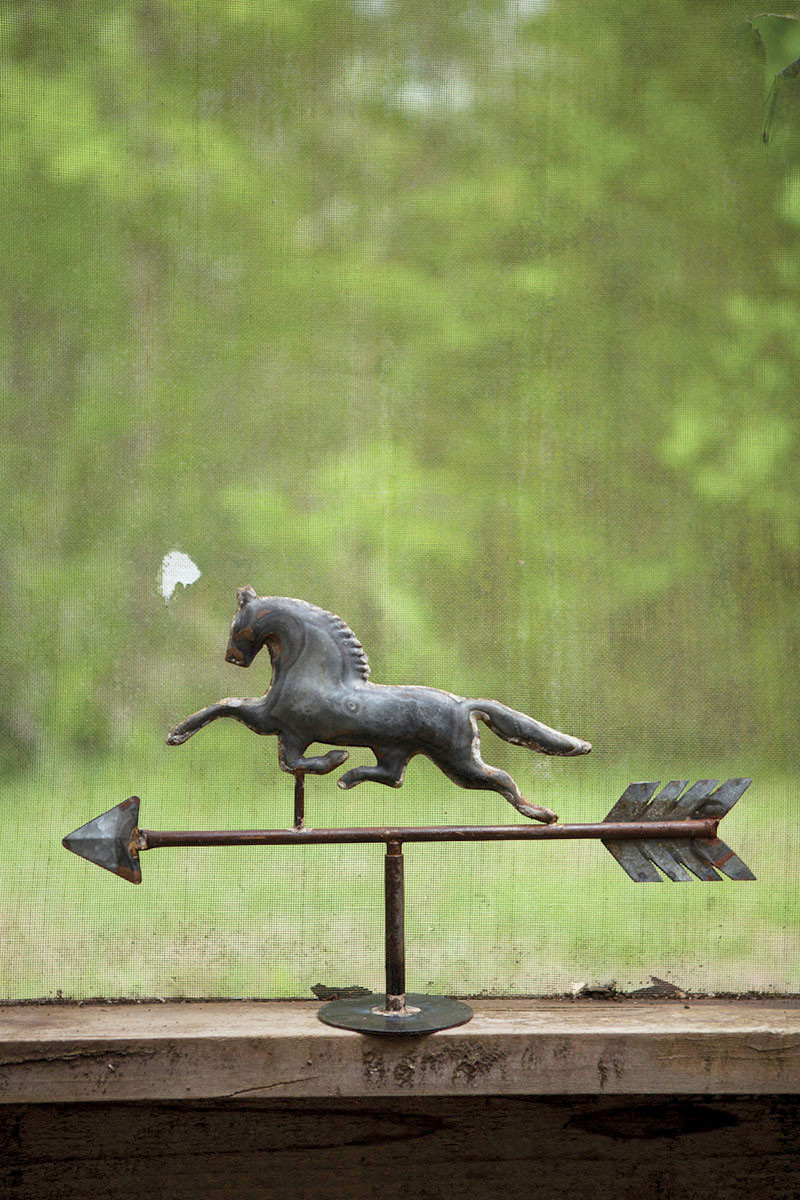 horse tabletop weathervane