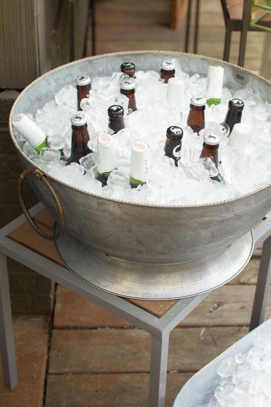 zinc party bowl