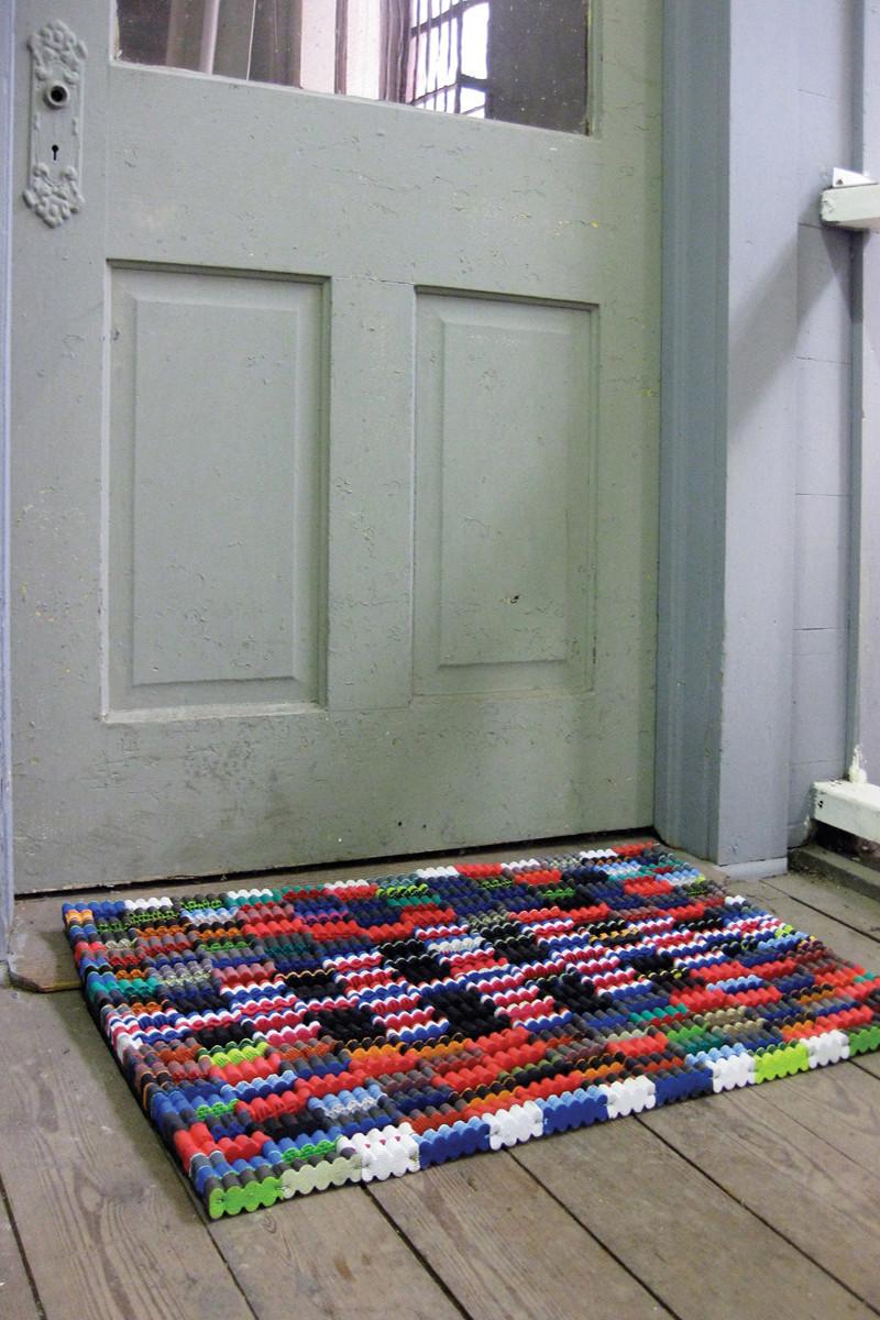 Recycled Flip Flop Doormat