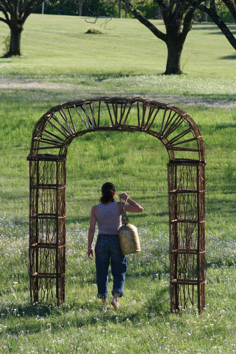 High Quality Twig And Vine Garden Archway