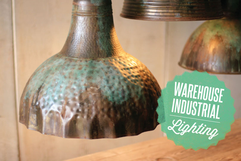 Our warehouse industrial lighting was featured in Country Living!